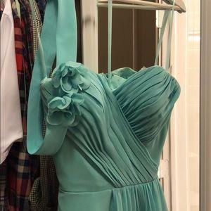 Dresses & Skirts - Light Blue Floor Length Evening Gown